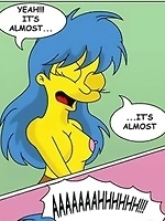 Tempting and humiliated Marge for the first time